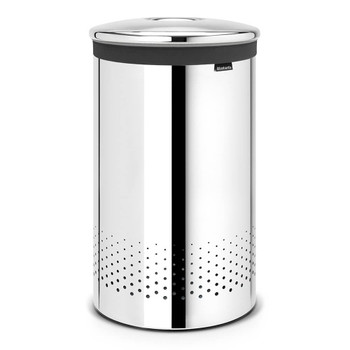 Brabantia Laundry Bin 60 litre - Brilliant Steel
