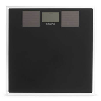 Brabantia Solar Powered Digital Bathroom Scales - Black