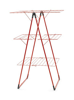 Brabantia Tower Drying Rack 23 metres - Passion Red