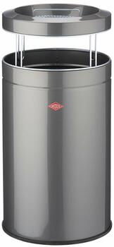 Wesco Ash Bin 50L - Silver