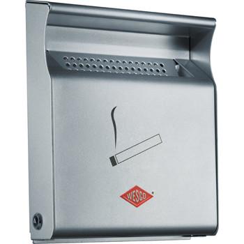 Wesco Wall Ashtray - Silver