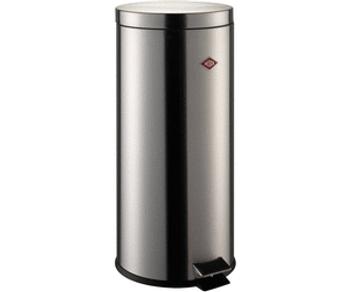 Wesco Pedal Bin 30L - Stainless Steel
