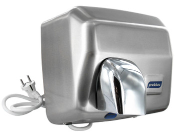 Probbax Touch Free Hand Dryer - 2500W - Satin Stainless Steel