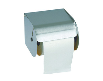 Probbax Paper Dispenser (One Standard Roll) - Satin Stainless Steel