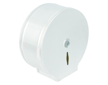 Probbax Roll Paper Dispenser (Round Mandrel) - White