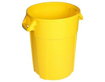 Probbax Round Container 120L - Yellow