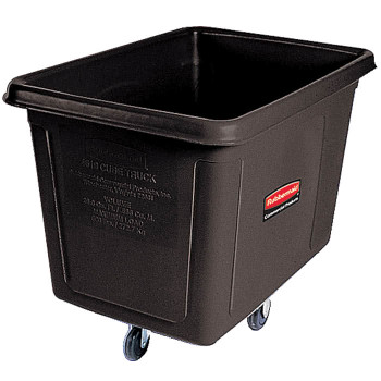 Rubbermaid Cube Truck 0.2 M³ - Black