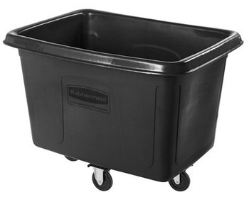 Rubbermaid Cube Truck 0.4 M³ - Black