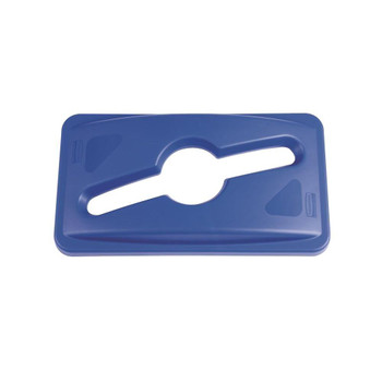 Rubbermaid Slim Jim Commingle Lid - Blue
