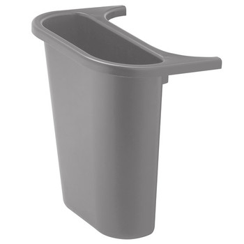 Rubbermaid Saddle Bin - Grey