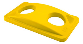 Rubbermaid Slim Jim Bottle Lid - Yellow