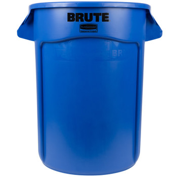 Rubbermaid Brute Container 121.1 L - Blue