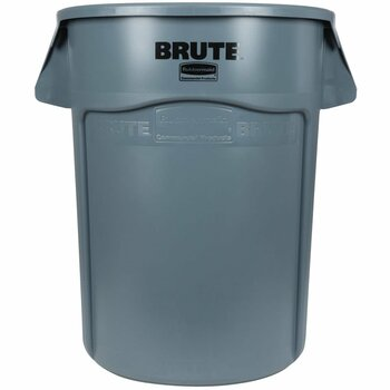 Rubbermaid Brute Container With Venting Channels 166.5 L - Grey