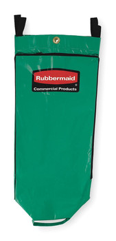 Rubbermaid Recycling Bag With Universal Recycling Symbol - Green