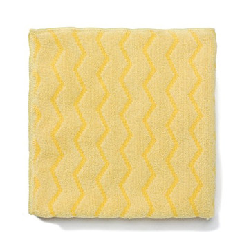 Rubbermaid Hygen Microfibre Cloth - Yellow