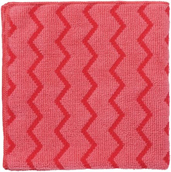 Rubbermaid Hygen Microfibre Cloth - Red