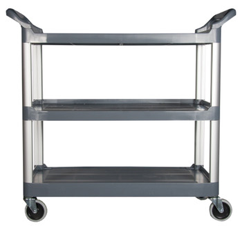 Rubbermaid X-Tra Cart Open - Black