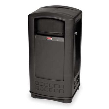 Rubbermaid Landmark Jr. Container - Black