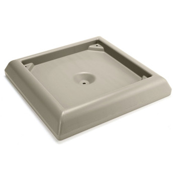 Rubbermaid Weighted Base Accessory - Beige
