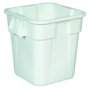 Rubbermaid Square Brute Container 106 L - White