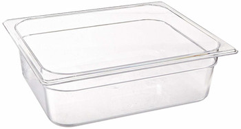 Rubbermaid Gastronorm Food Pan 1/2 100 mm - Clear
