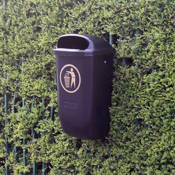 Wybone Asb/50 Post Mountable Litter Bin