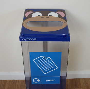 Wybone Box Cycle Animal Faces Monkey - Paper