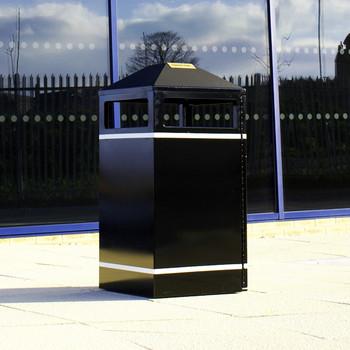 Wybone Bmb2/40 Barnsley Litter Bin MkII