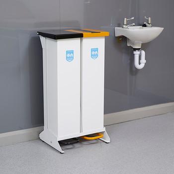 Wybone 80 Litre Duo Clinical Waste Bin