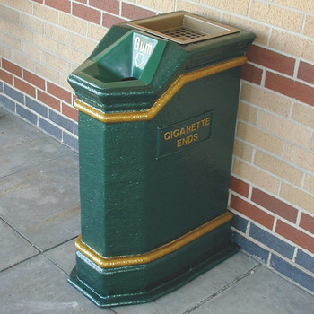 Wybone Lbv/Fcg Combined Cigarette End & Gum Disposal Bin Victoriana