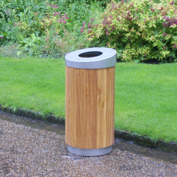 Wybone Wyatt Circular Timber Bin