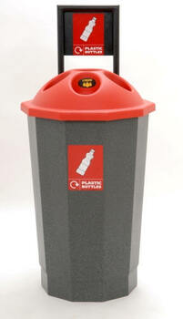 Beca Eco Bottle Bank (with Flask) (Black Top) - 75 litres