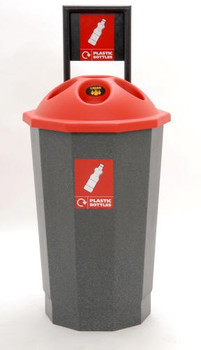 Beca Eco Bottle Bank (with Flask) (Red Top) - 75 litres