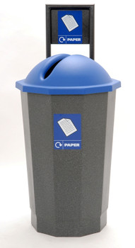 Beca Eco Paper Bank (Blue Top) - 75 litres