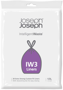 Joseph Joseph IW3 17 Litre General waste liners (20 Pack)