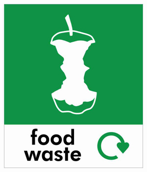 Small Waste Stream Sticker - Food Waste