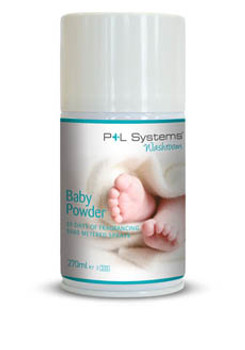 P+L Aircare Fragrances Classic - Baby Powder - 270ml (12 per case)