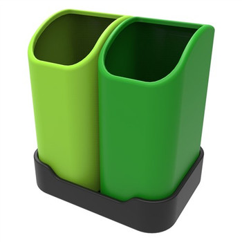 Leafield Tiny Tidy Desktop Double Tray 2 x 2.5L