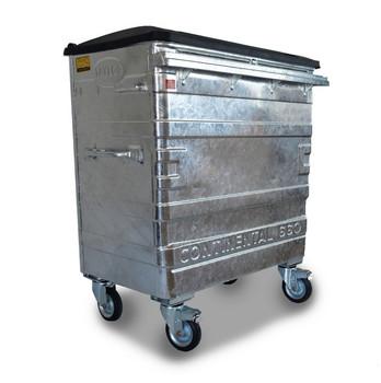 660 Litre Metal Wheelie Bin