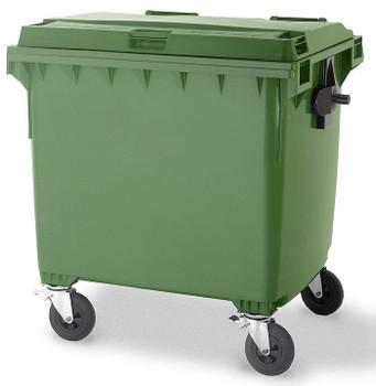 Green Wheelie Bin - 1100 Litre