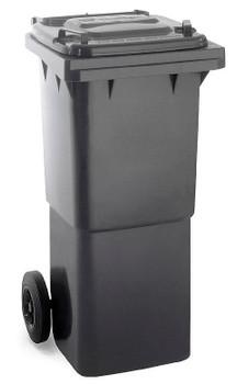 Black Wheelie Bin - 60 Litre