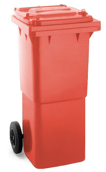 Red Wheelie Bin - 60 Litre