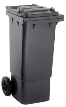 Black Wheelie Bin - 80 Litre