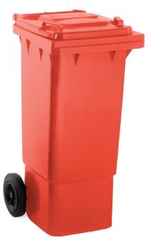 Red Wheelie Bin - 80 Litre