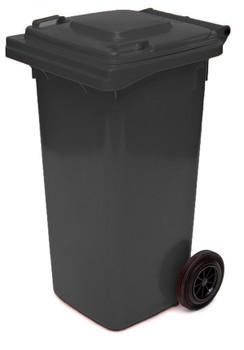 Black Wheelie Bin - 120 Litre