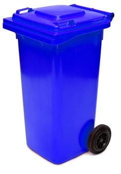 Blue Wheelie Bin - 120 Litre