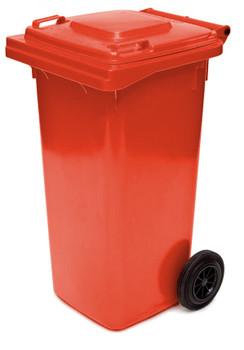 Red Wheelie Bin - 120 Litre