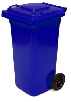 Sapphire Blue Wheelie Bin - 120 Litre