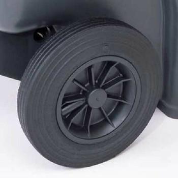Black Wheelie Bin - 140 Litre
