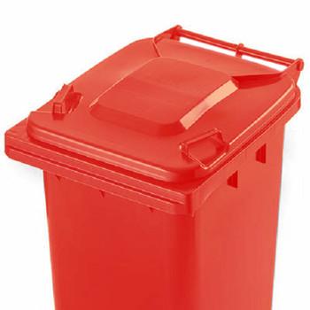 Red Wheelie Bin - 140 Litre
